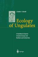 Ecology of Ungulates