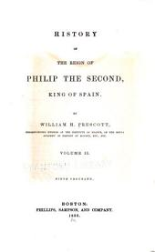 History of the Reign of Philip the Second, King of Spain: Volume 2
