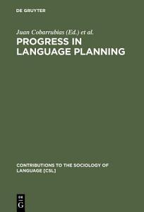 Progress in Language Planning PDF