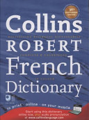 Collins Robert French Dictionary PDF
