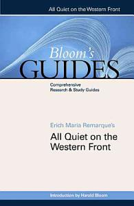 Erich Maria Remarque s All Quiet on the Western Front Book