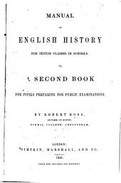 Manual of English History