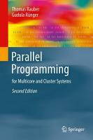 Parallel Programming PDF