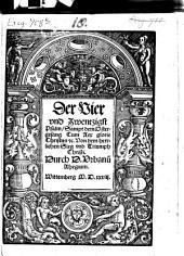 Der Vier und Zwentzigst Psalm: Sampt dem Ostergesang Cum Rex glorie Christus [et]c. Von dem herrlichen Sieg und Triumph Christi