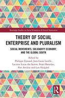 Theory of Social Enterprise and Pluralism PDF