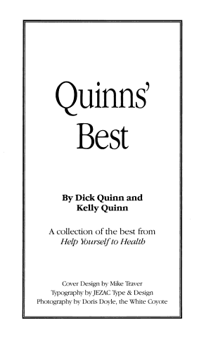 Quinns  Best PDF