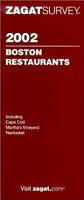 Boston Restaurant Survey 2002 PDF
