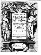 Joannis Meursii Athenae Batavae
