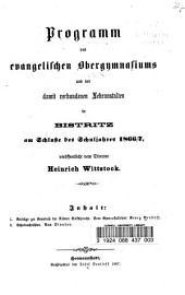 Beiträge zur Kenntniss der Nösner Volkssprache: Band 1