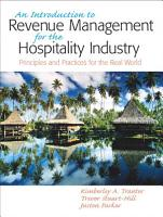 Introduction to Revenue Management for the Hospitality Industry PDF