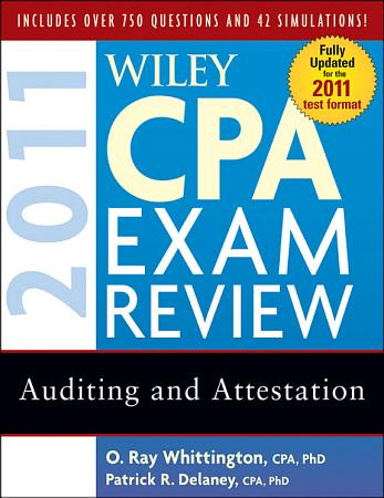 Wiley CPA Exam Review 2011  Auditing and Attestation PDF