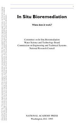 In Situ Bioremediation PDF