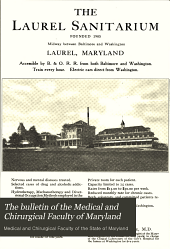 The Bulletin of the Medical and Chirurgical Faculty of Maryland: Volume 6, Issue 6