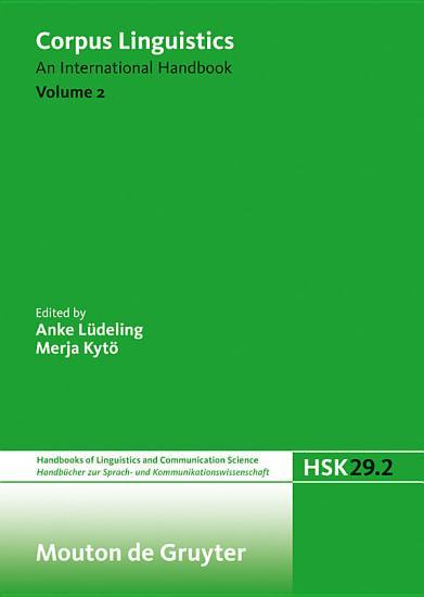 Corpus Linguistics PDF