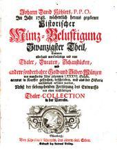 Historische Münz-Belustigung ...