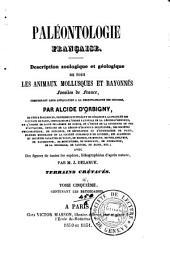 Paléontologie française: Terrains crétacés. 8 v. and 8 atlases. 1840-87