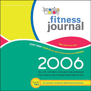 Streaming Colors Fitness Journal 2006 Compact Wall Calendar PDF