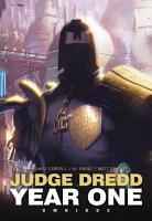 Judge Dredd  Year One PDF