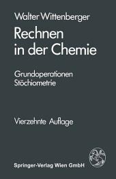 Rechnen in der Chemie: Grundoperationen, Stöchiometrie, Ausgabe 14