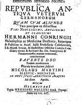 De republica antiqua veterum Germanorum