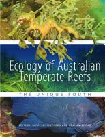 Ecology of Australian Temperate Reefs PDF