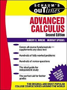 Schaums Outline of Advanced Calculus  Second Edition PDF