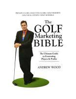 The Golf Marketing Bible PDF