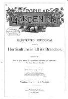 Popular Gardening and Fruit Growing PDF