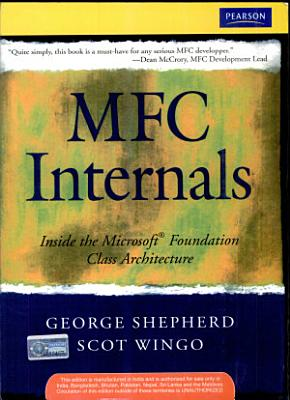 Mfc Internals  Inside The Microsoft Foundation Class Architecture
