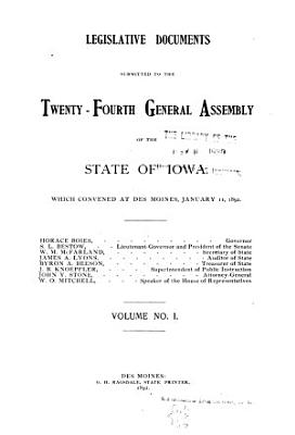 Legislative Documents Compiled by Order of the     General Assembly PDF