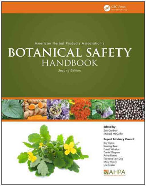 American Herbal Products Association   s Botanical Safety Handbook  Second Edition PDF