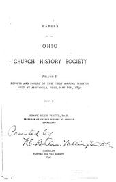 Papers of the Ohio Church History Society: Volumes 1-5