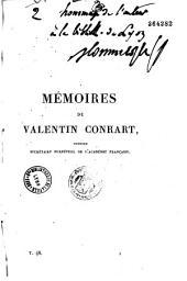 Notice sur Valentin Conrart et sur ses mémoires