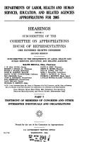 Departments of Labor  Health and Human Services  Education  and Related Agencies Appropriations for 2005 PDF