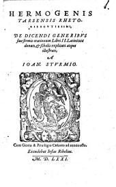 De dicendi generibus sive formis orationum