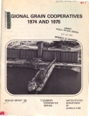 Regional Grain Cooperatives, 1974 and 1975