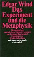 Das Experiment und die Metaphysik PDF