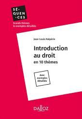 Introduction au droit - Intégrale