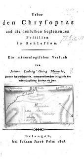 Ueber den Chrysopras und die denselben begleitenden Fossilien in Schlesien, etc