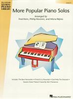 More Popular Piano Solos   Level 3  Songbook  PDF