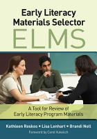 Early Literacy Materials Selector  ELMS  PDF