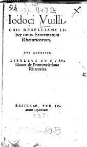 Erotemata in Rhetoricen ad Alexandrum