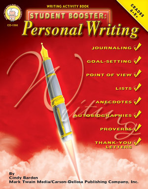 Student Booster  Personal Writing  Grades 4   8 PDF