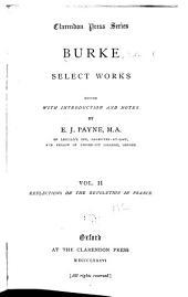 Burke, Select Works: Volume 2