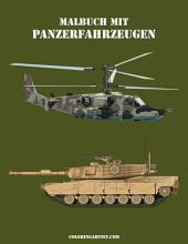 Malbuch mit Panzerfahrzeugen 2