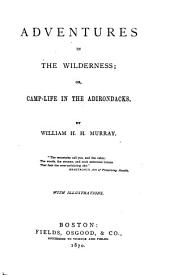 Adventures in the Wilderness: Or, Camp-life in the Adirondacks