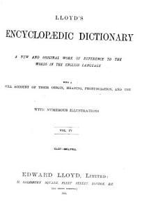 Lloyd s Encyclop  dic dictionary Book