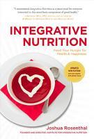Integrative Nutrition  Third Edition  PDF