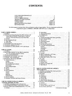 America  History and Life PDF