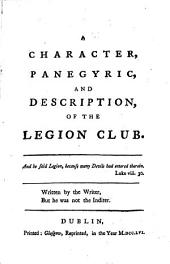 Poems on Various Subjects: Viz. The Legion Club, by D--n S----t. The Gymnasiad. The Causidicade. An Epistle to Dr. Thompson